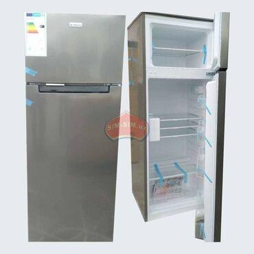 | Новый Двухкамерный | Серый холодильник Avest
