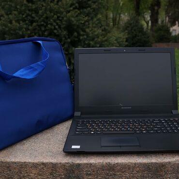 Ноутбук LenovoCeleron 1002u Ram4-gb500hdd16000 сом + мышка и сумка в