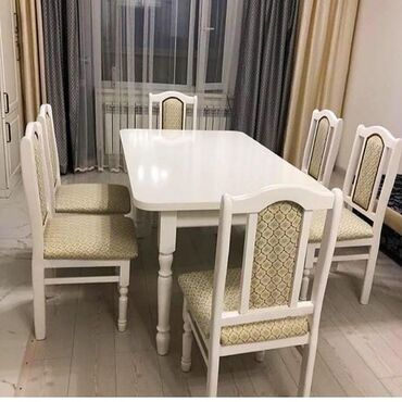 Мебель на заказ в Бишкек: Столдун ар кандай турлоруно заказ алабыз.Столдун бети Ламинат (ЛДСП)