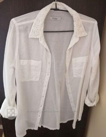 Белая рубашка colins  В идеалном состоянии из 10и 9