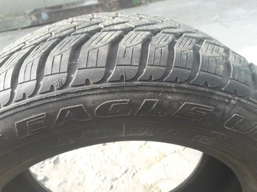 Продаю Goodyear Eagle Ultra 1шт. R215/55. Зима+M+S. Как новая. Шишек,  в Токмак