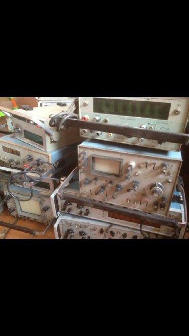 Другое - Кыргызстан: Куплю дорого приборы радиодетали:осциллографычастотомерыгенераторы
