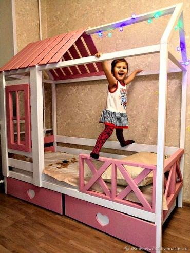 """Детский кровать """" Гаухар """", размер 160/70 см , артапед матрас в Кок-Ой"""
