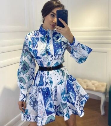 uslugi mashiny s kranom в Кыргызстан: Новое Шикарное платье. Размер S