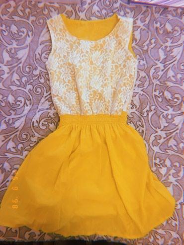 Летнее платье. Состояние хорошее в Бишкек