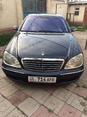Mercedes-Benz в Кыргызстан: Mercedes-Benz C-class AMG 5 л. 2001   200 км
