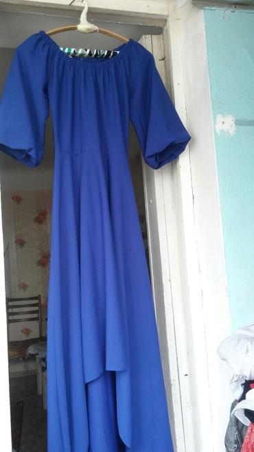 Синее платьн 44 размер,белое платье в Бишкек