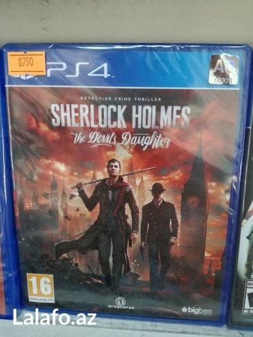 Bakı şəhərində Sherlock Holmes ps4