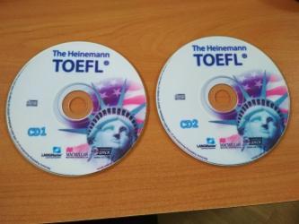 mektebe qeder hazirliq - Azərbaycan: TOEFL diskləri. TOEFL-ə hazırlıq üçün 2 ədəd disk. İmtahana hazırlıq