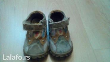 Torbica sa narukvicom cipele e - Srbija: Polino cipele broj 20 sa anatomskim uloškom malo nošenje. Cena je 600