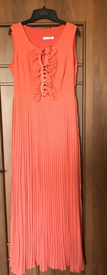 длинные платья из турции в Кыргызстан: Шикарное нарядное длинное платье сочный цвет состояние отличное разм