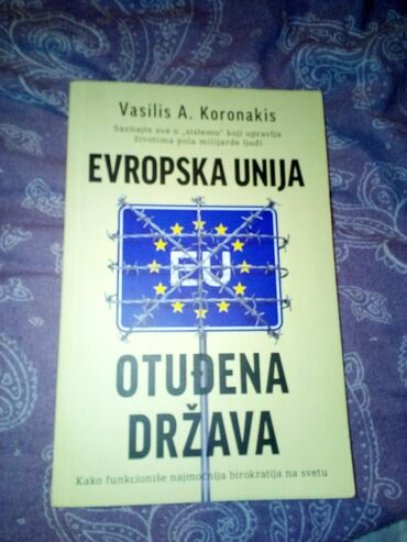 Pre - Srbija: Vasilis Koronakis, Evropska Unija- otudjena drzava, kao nova, potpuno