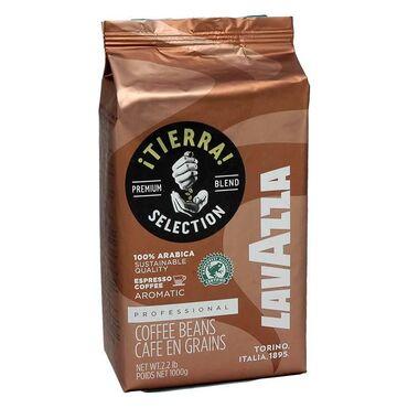 Tea peci - Srbija: LAVAZZA TIERRA 100% ARABIKA 1kg espresso kafa u zrnu Srednje pečena ka