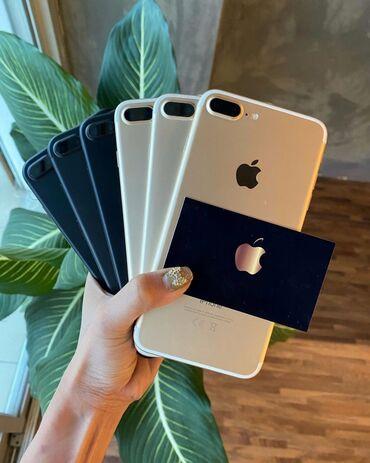 Apple Iphone - Бишкек: Продаю Айфоны 7+!!!В Идеальном состоянии, привозные!Доставки нет