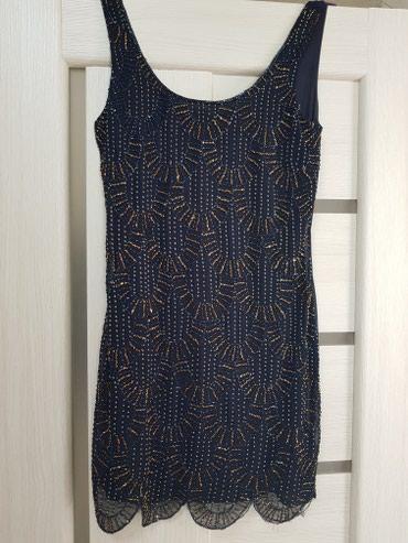 Платье из Англии. Шикарное мини платье TFNC (облегающее) расшитое