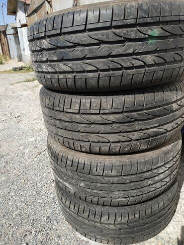 tongkat ajimat madura как использовать в Кыргызстан: Продам отличные летние шины Bridgestone dueler sport 235/50/18 Почти н