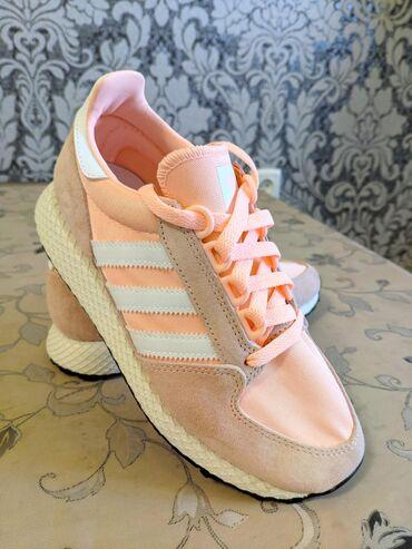 adidas-clima в Кыргызстан: Продаю женские кроссовки Adidas Originals Forest Grove, цвет оранжевый