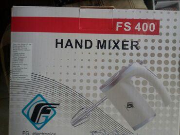 Jaja - Srbija: Mikser FS 400 FisherSnaga 450wPet brzinaTurbo prekidacDve mutilice za