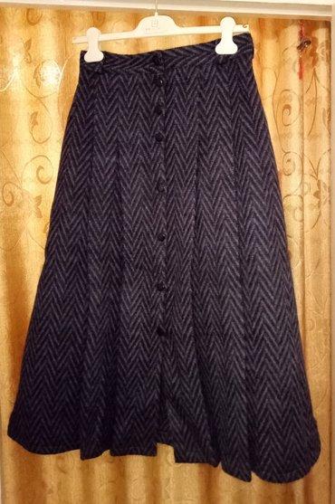 Продаю драповую очень теплую юбку (лама) с подкладом. Обхват талии - в Бишкек