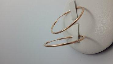 Серьги-кольца из красного золота 585 пробы  в Бишкек