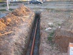 Траншей копка, копка под канализацию, в Бишкек