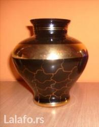 Prodajem kobaltnu vazu sa fotografije. Troškove dostave plaća kupac. - Nis