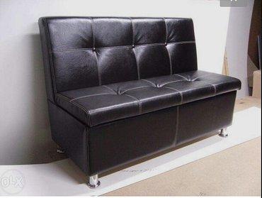 диванчики и пуфики  для кафе от 5500сом 1м- 5500сом   1. 20см 5800сом  в Бишкек