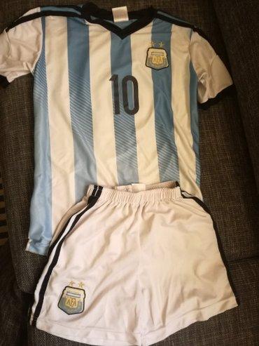 Dres Argentine, Messi, velicina 164, kupljen u Turskoj - Crvenka