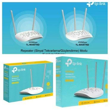 - Azərbaycan: Tp link access point sebeke paylayici repeater ripiter wifi uzadici