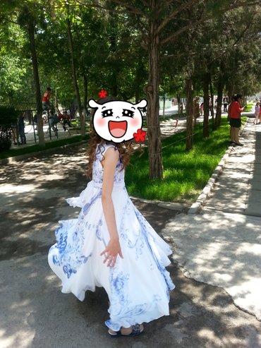 Продаю шикарное платье с удивительным в Бишкек