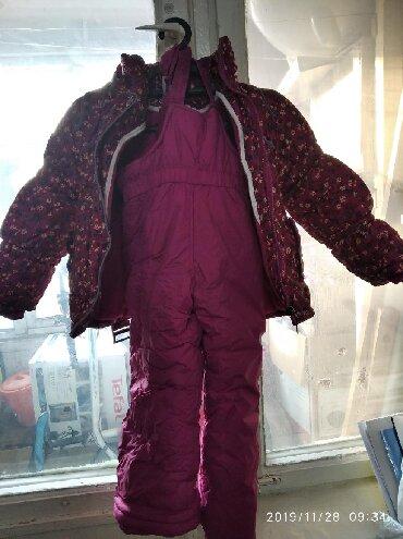 серьги для девочки в Кыргызстан: Продается зимний детский комбинезон. Для девочки 5-6 лет. В хорошем