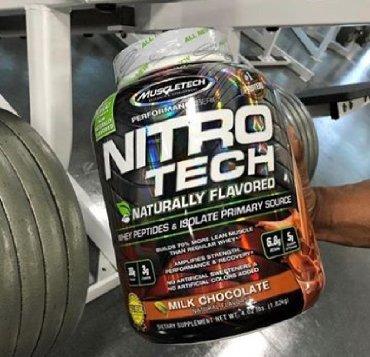 İdman qidaları Azərbaycanda: MUSLETECH NITROTECH Protein 30gr,sugar 2 gr1.800 gr- 102 azn2.700 gr-