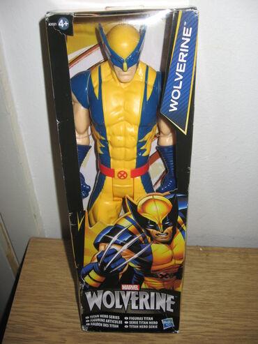 Marvel Wolverine  Visina 29 cm  Novo i neotpakovano, kutij