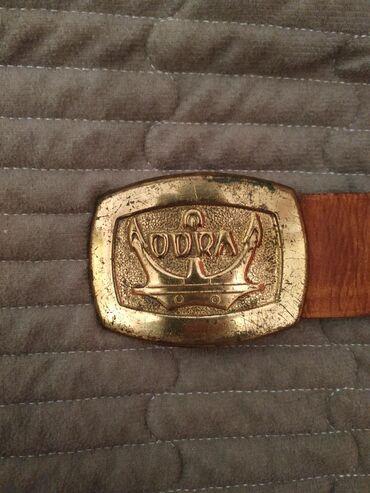 Ремень Odra, военно-морской флот бляха сплав бронза