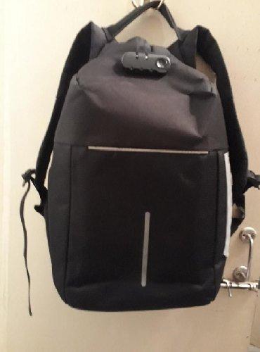 Рюкзак антивирусом с кодовым замком для ноутбука и.т.д
