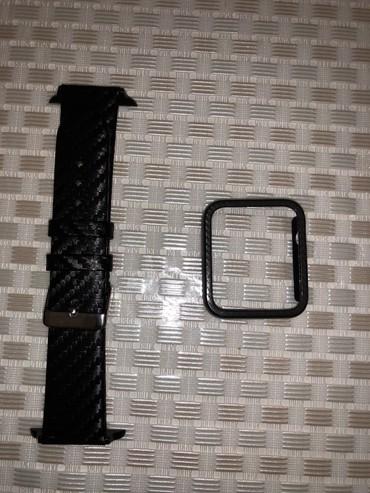 штатив тренога для телефона в Кыргызстан: Продаю чехол с ремешком на Apple Watch 42mm (под карбон)