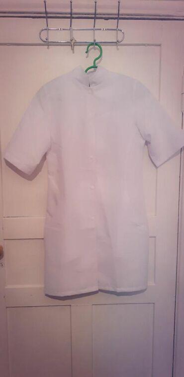 медицинские одноразовые халаты в Кыргызстан: Женский медицинский халат новый