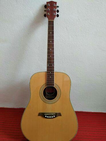 акустические системы mee audio в Кыргызстан: Акустическая гитара 41 размер, состояние новой гитары (покупал неделю