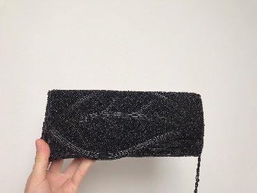 Torbe dinara - Srbija: Crna torbica od perica, cena 1500 dinara
