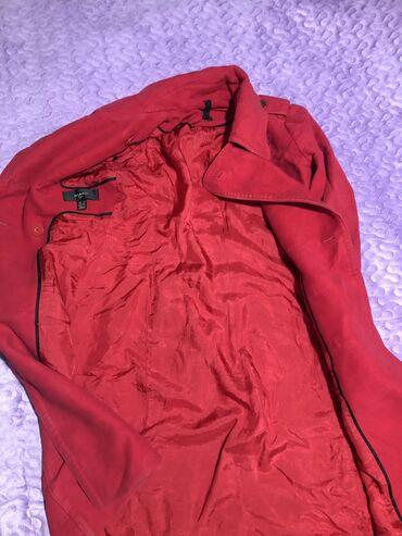 Красная Пальто манго