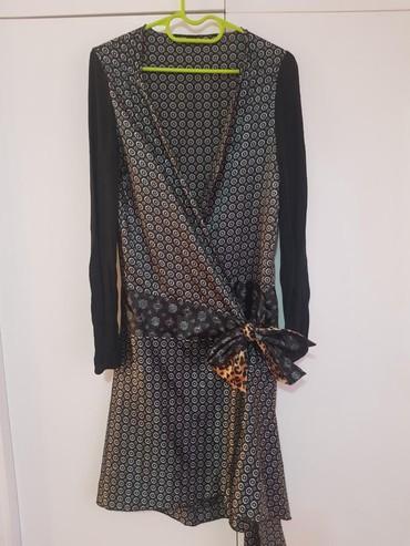 Haljina od svile kao bade mantil, jako neobicna i lepo stoji, kupljena - Belgrade