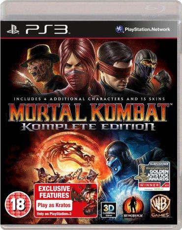 Bakı şəhərində Mortal Kombat Komplete Edition Playstation 3 oyunu