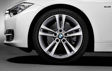 bmw disk - Azərbaycan: BMW f30 üçün 18 lik arjinal disk. Disklərdə çat qırığ yoxdur. Maşının