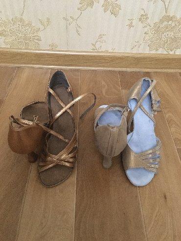 танцевальные туфли в Кыргызстан: Танцевальные туфли. Латина. Размер 36-37. Кожа. 550 за одну пару