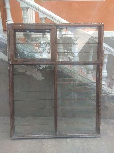 ustanovka windows s vyezdom na domu в Кыргызстан: Продается оконные рамы со стекломРазмеры:130/160.13