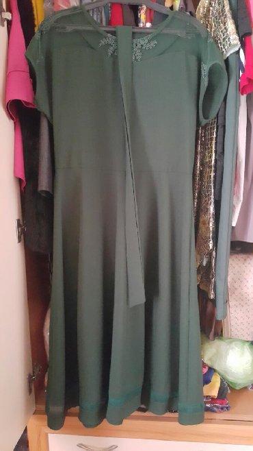 зеленые шузы в Кыргызстан: Платье темно зеленое хакки носила один раз