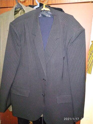 мужские эспадрильи в Кыргызстан: Большой размер! Черный костюм в черную полосу, мужской НОВЫЙ!!! Длина