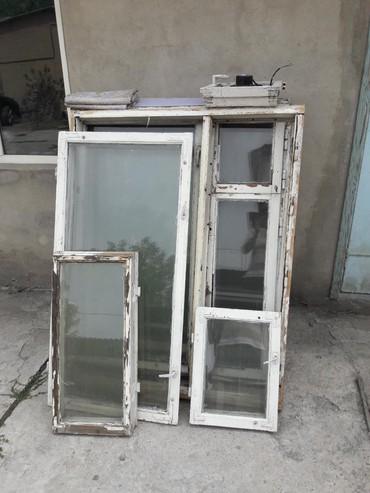 Окна деревянные - Кыргызстан: Окна. Деревянные. 120см×145см