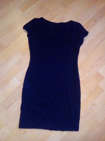 Crna pamucna haljina S - Vranje
