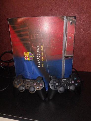 portable playstation 3 в Кыргызстан: Продаю PS3 Fat в хорошем состоянии, полный комплект с двумя